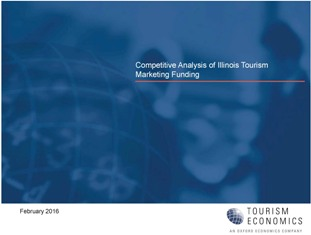 Tourism Funding Study Cover