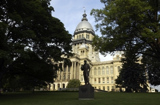 Illinois State Capitol, Photo Courtesy of Illinois Office of Tourism